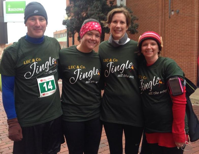 Jingle Bell Run Team